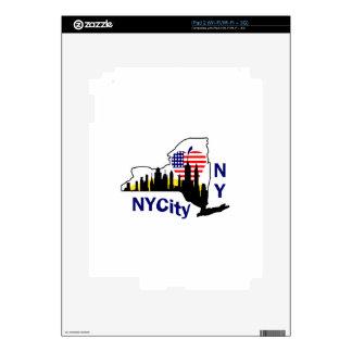 New York City iPad 2 Decals