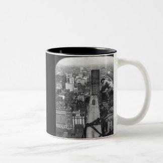 New York City Iron Workers Two-Tone Coffee Mug
