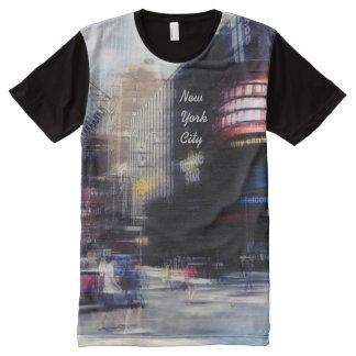 New York city All-Over Print T-shirt