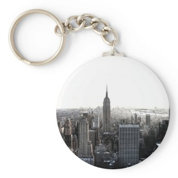 USA Themed New York City Keychain