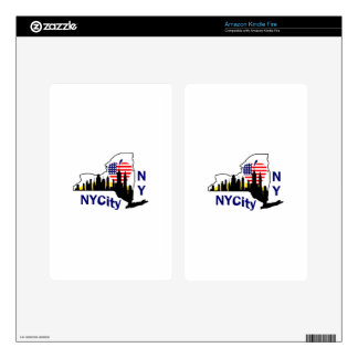 New York City Kindle Fire Decal