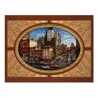 New York City - la esquina de la 10ma avenida y W Tarjetas Postales