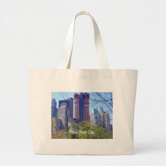 New York City Large Tote Bag