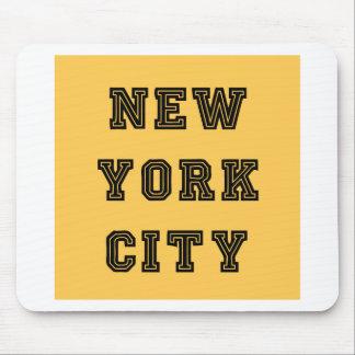 New York City Lettering Alfombrilla De Ratón
