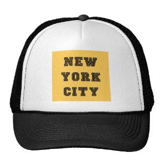 New York City Lettering Gorras