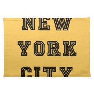 New York City Lettering Mantel Individual