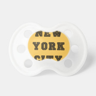 New York City Lettering BooginHead Pacifier