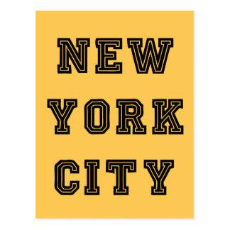 New York City Lettering Postal
