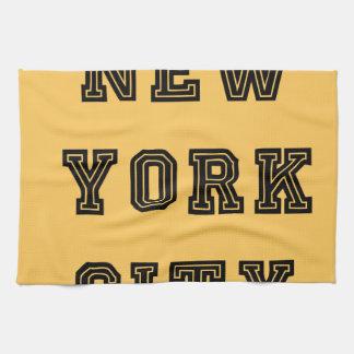 New York City Lettering Toalla