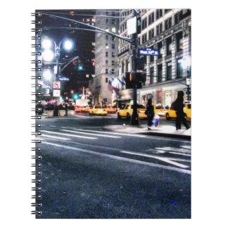 New York City Libreta Espiral