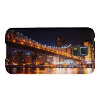 New York City Lights - Night Cityscape Galaxy S5 Case