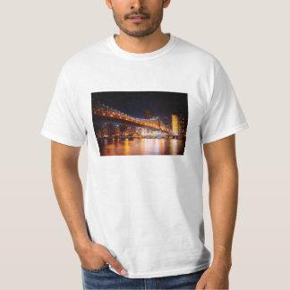 New York City Lights - Night Cityscape T-Shirt