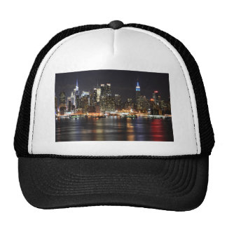 New York City Lights Trucker Hat