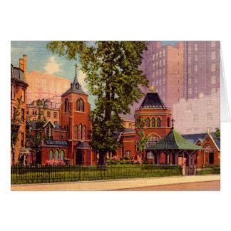 New York City Little Church Around the Corner Card