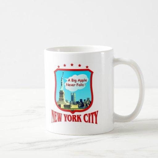 New York City los E.E.U.U. Tazas De Café