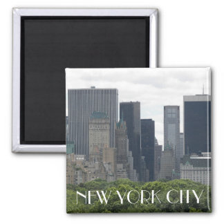 New York City 2 Inch Square Magnet
