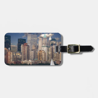 New York City Manhattan Bag Tag