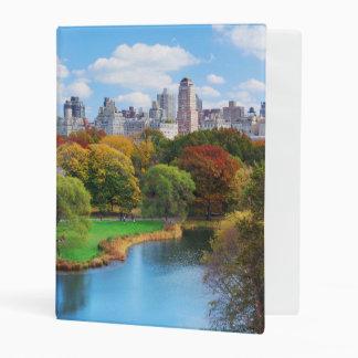 New York City Manhattan Central Park Panorama Mini Binder