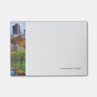 New York City Manhattan Central Park Panorama Post-it® Notes