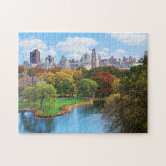 New York City Manhattan Central Park Panorama Puzzle