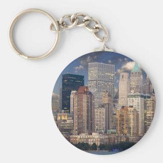New York City Manhattan Keychain