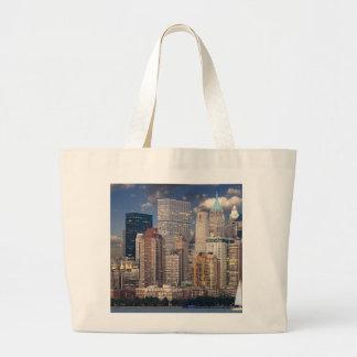 New York City Manhattan Large Tote Bag