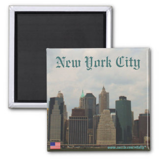 New York City Manhattan magnet design