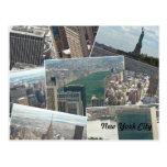 New York City Manhattan Multiview Postal