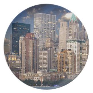 New York City Manhattan Plate