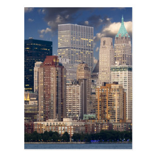 New York City Manhattan Postcard