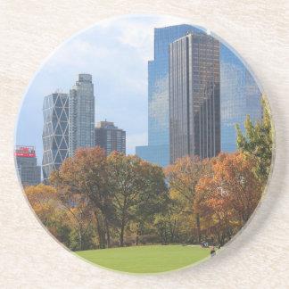 New York City Manhattan skyline panorama viewed fr Coasters