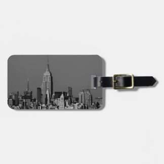 New York City Manhattan Skyline Tag For Luggage