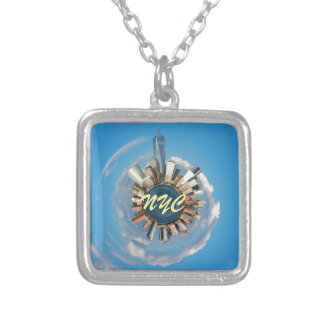 New York City Manhattan Stunning! Silver Plated Necklace