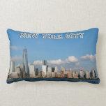 New York City - Manhattan & Times Square - USA Throw Pillow