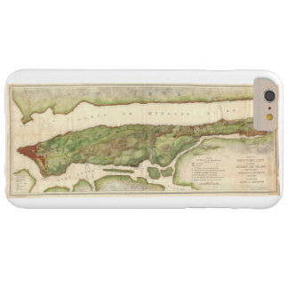 New York City Map During Revolutionary Map 1878 Barely There iPhone 6 Plus Case
