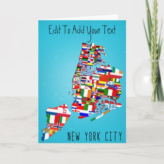 New york city maps greeting birthday wedding card zazzle new york city maps greeting birthday wedding card m4hsunfo