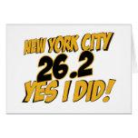 New York City Marathon Cards