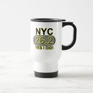 New York City Marathon Travel Mug