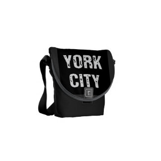 New York City Messenger Bag