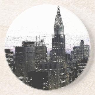 New York City Midtown Drink Coaster