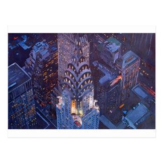 New York City Midtown Manhattan w. Chrysler Build. Postcard