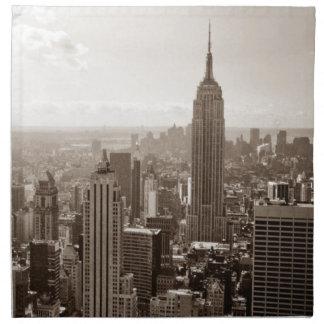 New York City Midtown Napkin