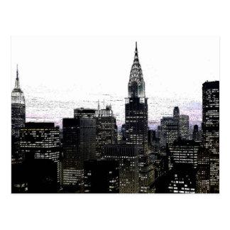 New York City Midtown Postcard