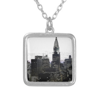New York City Midtown Silver Plated Necklace