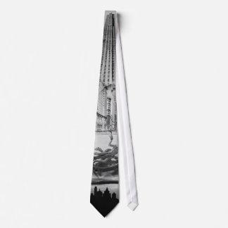New York City Montage 1939 Tie