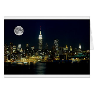 New York City Mooned Card