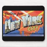 New York City Mousepad Alfombrilla De Raton