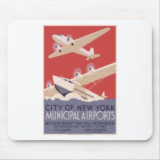 New York City Municipal Airports Mouse Pad
