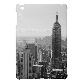 New York City negro y blanco iPad Mini Carcasa