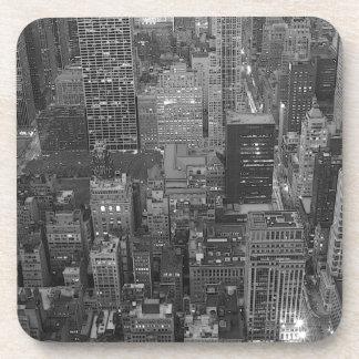 New York City negro y blanco Posavaso